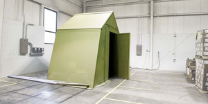 Origami Structures for Deployed Soldiers