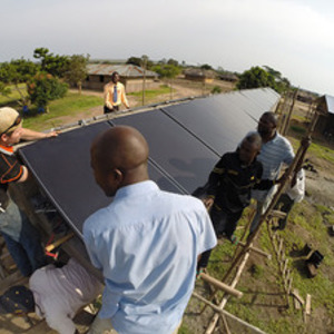 Notre Dame works with diocese and students in DRC to build reliable electricity and renewable energy skills