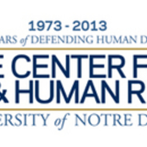 Notre Dame Law School Center for Civil and Human Rights announces University-wide status