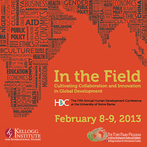 Student conference to explore collaboration in human development