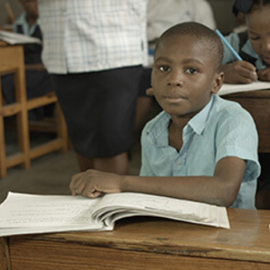 USAID announces grant to Notre Dame to support literacy in Haiti
