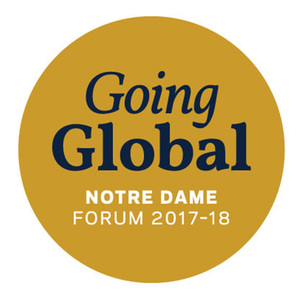 Globalization the focus on 2017-18 Notre Dame Forum