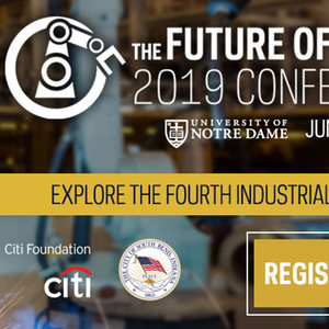 Experts to focus on global challenges of automation and AI at 'Future of Work' conference