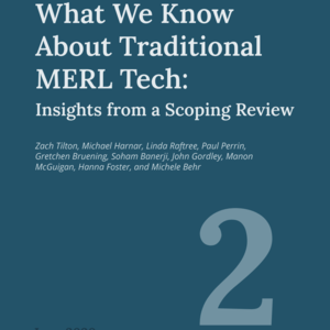 Notre Dame researchers uncover lessons for using technology in Monitoring, Evaluation, Research, and Learning (MERL) in development